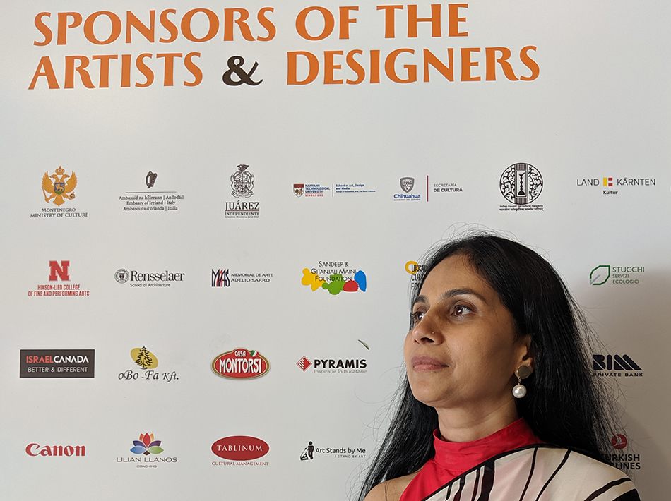 Sponsors of the Artists and Designs in Florence Biennale - Sangeetha Abhay