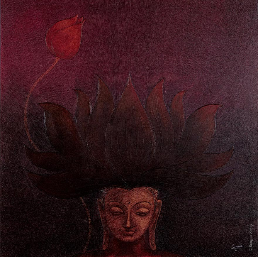 Buddha Painting - The Saharana
