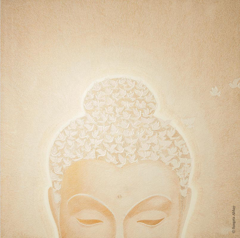 Buddha Painting - True being