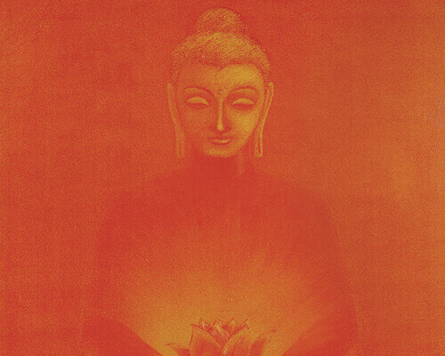 Buddha Painting - The Glow Thumbnail