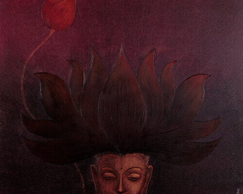 Buddha Painting - The Saharana Thumbnail
