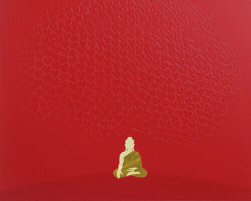 Buddha Painting - Tree of Wisdom Thumbnail