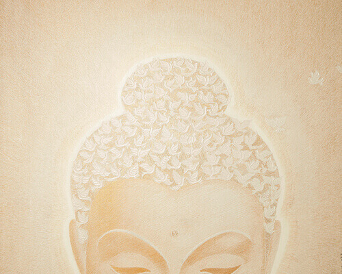 Buddha Painting - True being Thumbnail